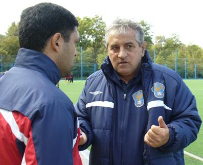 Директор футбольной школы Дагестана Александр Маркаров