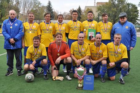 «Ростов-В» - чемпион области среди ветеранов 2011 год
