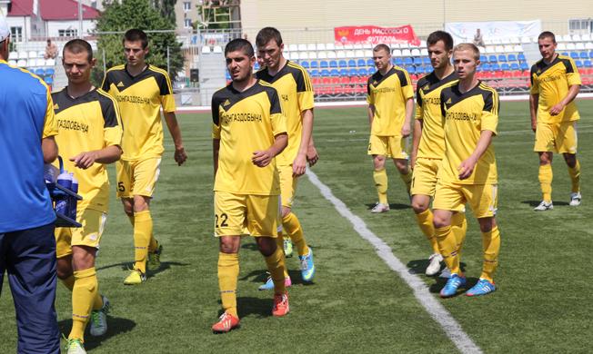 От предыдущего состава донгаздобычи в 2015 году останутся немногие футболисты // фото www.footballufo.ru
