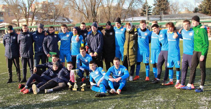 Чайка-М победитель кубка Щербатенко 2020