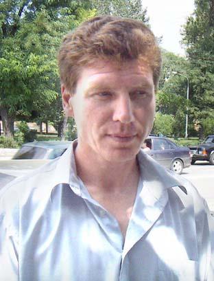Главный тренер команды «Горгаз» 2005 года Владимир Лазарев