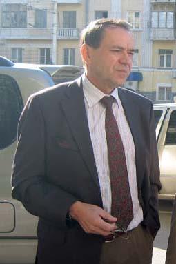 Ростов посетил генеральный секретарь РФС Владимир Радионов
