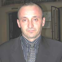 президент федерации футбола Ингушетии Евлоев Мухажир