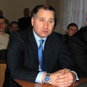 Президент команды Вадим Никулин