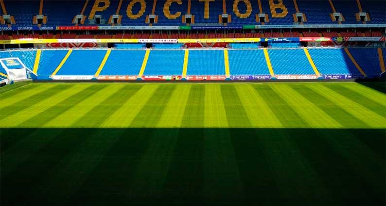 Вместимость футбольного стадиона Ростов Арена 43 472 зрительских места