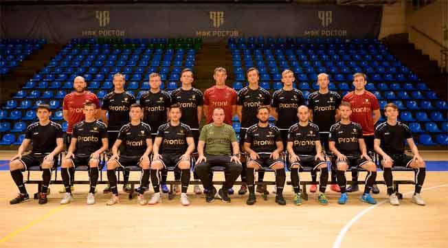 МФК Ростов дебютировал в высшей лиге чемпионата России по мини-футболу сезона 20-21