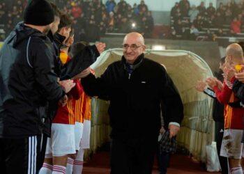 Президенту Федерация футбола РСО-Алания Игорю Андреевичу Зазроеву 72 года.