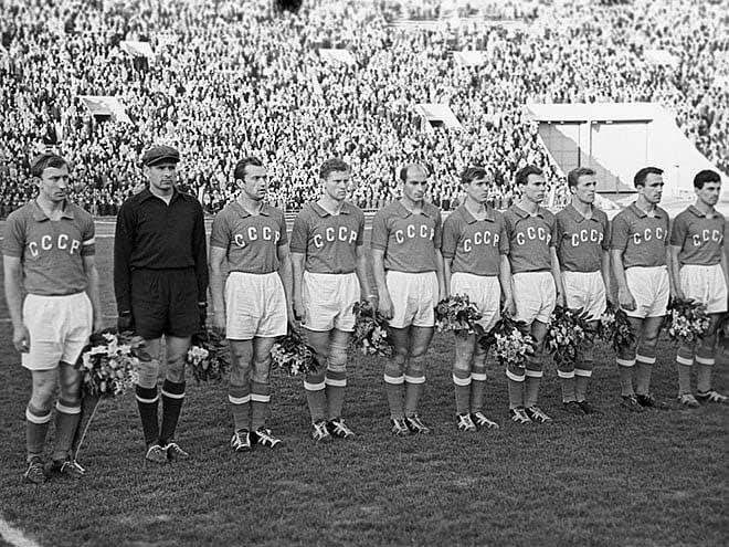 Сборная СССР - чемпион Европы по футболу 1960
