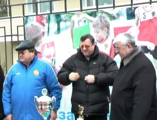 Николай Сардак, Иван Перонко, Лом-Али Ибрагимов в Азове