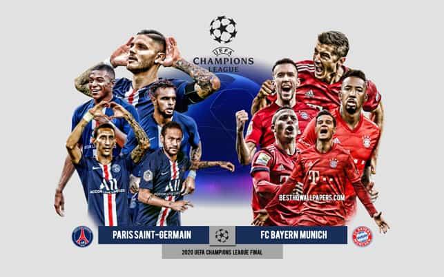 Бавария - ПСЖ матч ЛЧ 7 и 13 апреля 2021