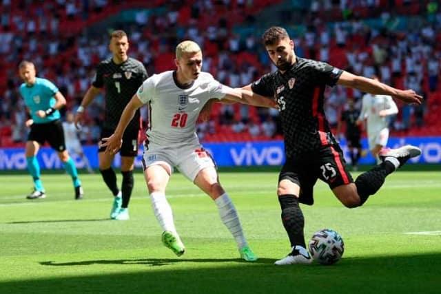 Англия - Хорватия - 1:0 ЧЕ-2021
