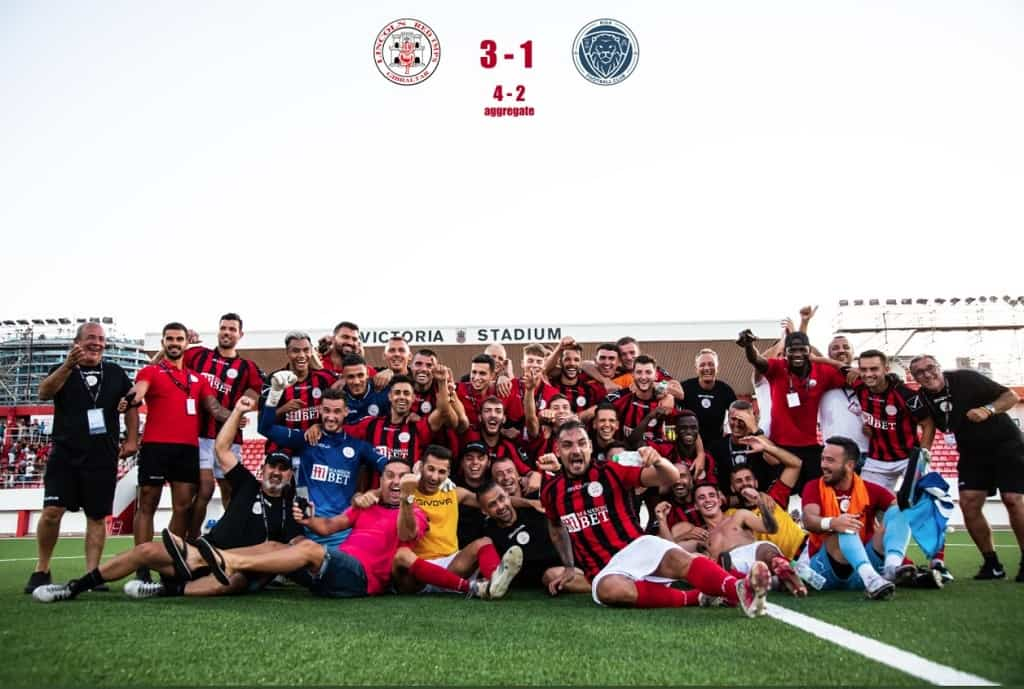 Любительская команда Линкольн Гибралтара вышел в группу ЛК УЕФА